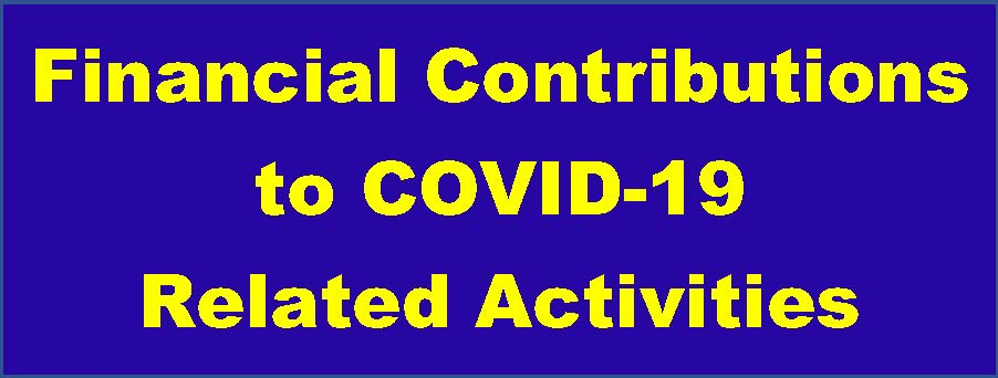 Financial Contributions to COVID19