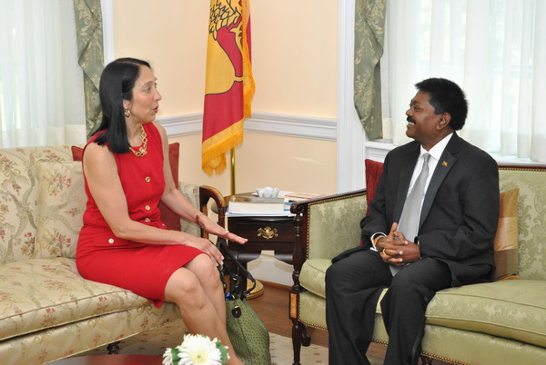 NEW US AMBASSADOR TO SRI LANKA MEETS HER COUNTERPART IN ...