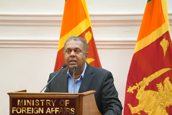 Hon. Mangala Samaraweera, Minister of Foreign Affairs on Human Rights Day Ministry of Foreign Affairs